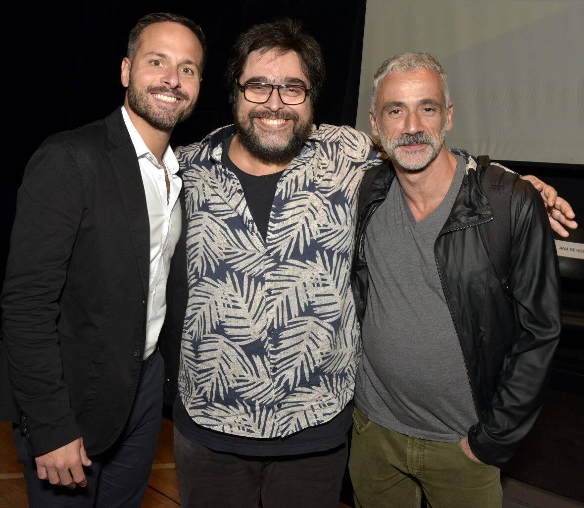 Marcelo Calero, Eduardo Barata e Fernando Libonati /Foto: Cristina Granato