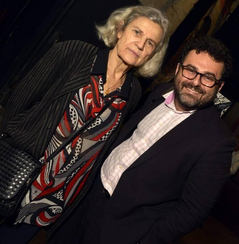 Bárbara Freitag Rouanet e Pablo Castellar /Foto: Cristina Granato