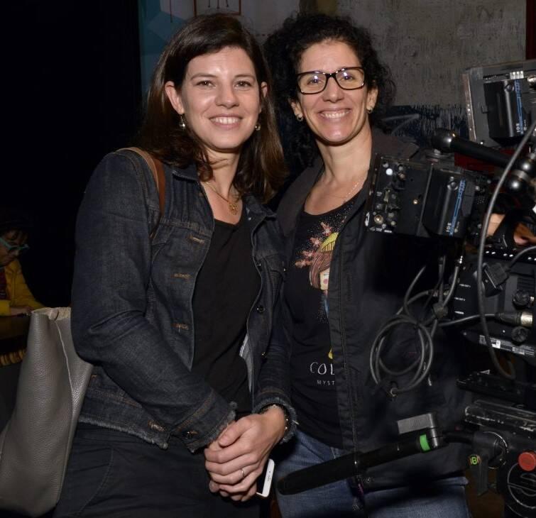 Adriana Rouanet e Silvia Gangemi /Foto: Cristina Granato