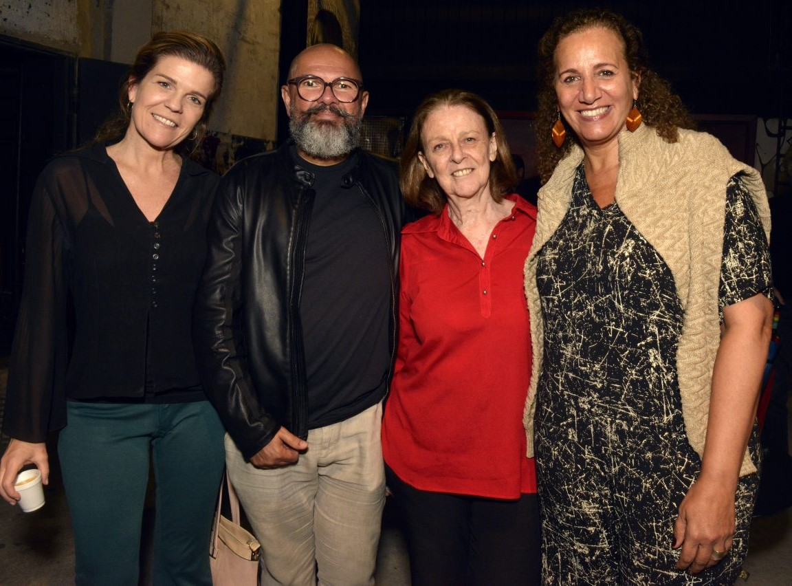 Luiza Thiré, Celso Lemos, Norma Thiré e Jandira Feghali /Foto: Cristina Granato