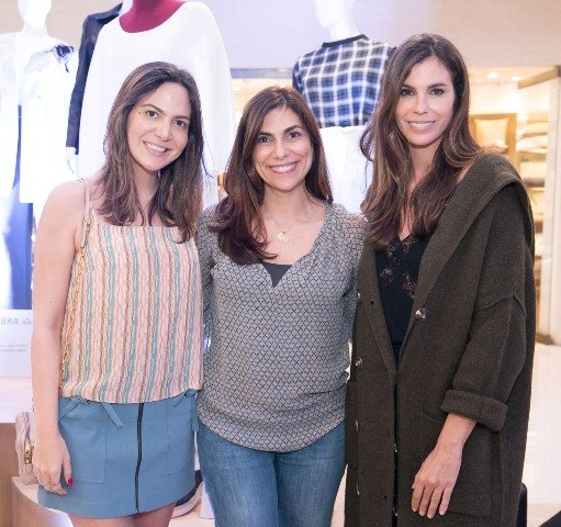Carol Sampaio, Adriana Alves e Chris Pitanguy