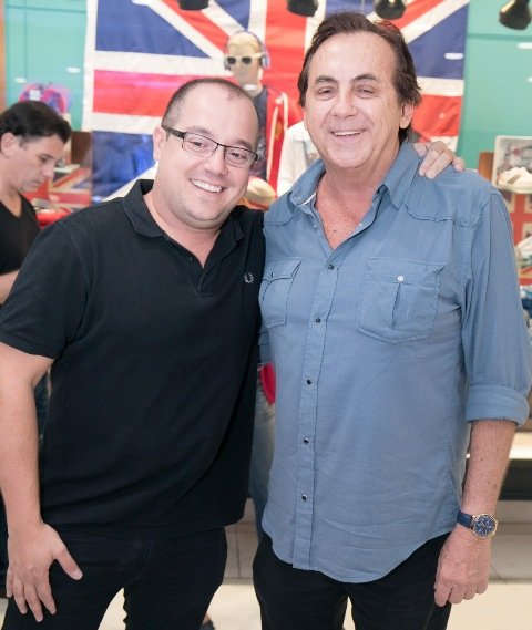 Michel Diamant e Ricardo Rique