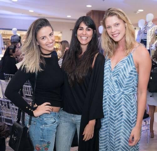Priscila Jaffe, Camila Carter e Betina Schmidt