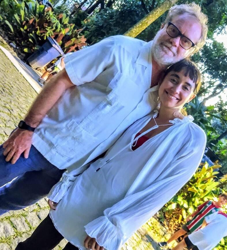 Raul Mourão e Caroline  Carreteira  /Foto: Cristina Granato