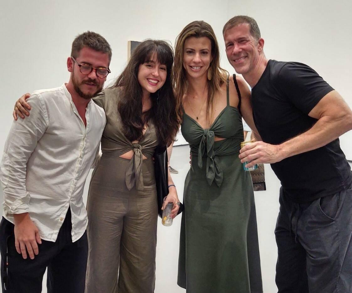 Ulisses Carrilho,  Anna Costa e Silva , Tatiana Zukeman e Tom Burr  /Foto: Cristina Granato