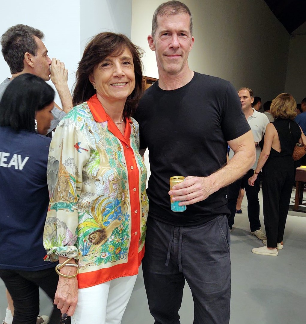 Frances Reynolds e Tom Burr /Foto: Cristina Granato