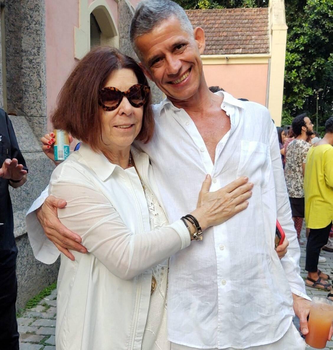 Vanda Klabin e Cabelo /Foto: Cristina Granato