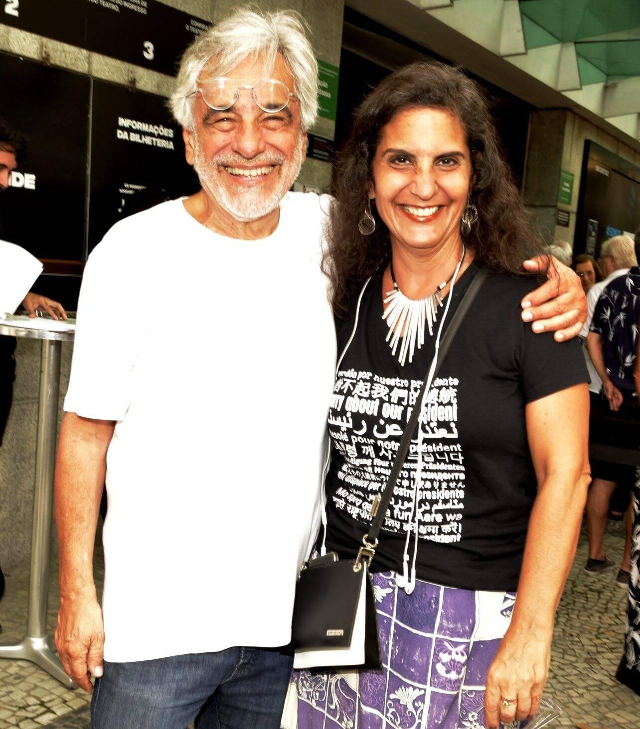 Aderbal Freire Filho e Stella Stefany  /Foto: Cristina Granato
