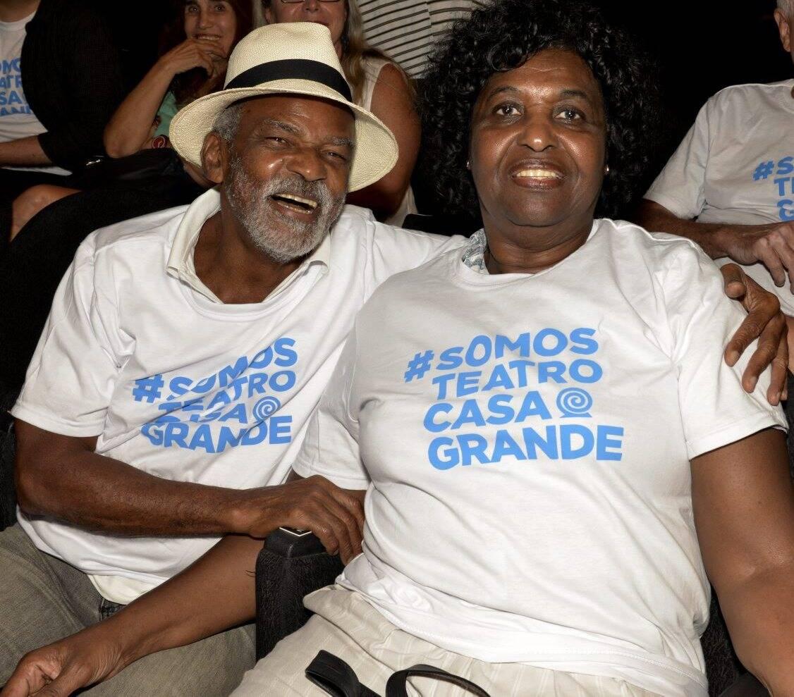 Antônio Pitanga e Benedita da Silva  /Foto: Cristina Granato
