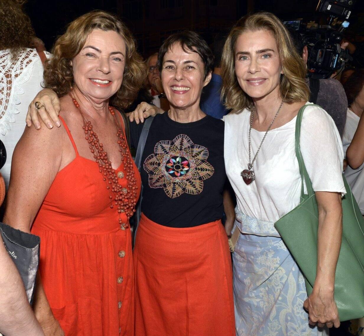Rosa Maria Araújo, Ana de Hollanada e Maitê Proença   /Foto: Cristina Granato