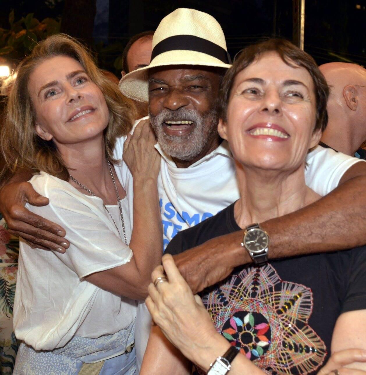 Maitê Proença, Antonio Pitanga e Ana de Hollanda   /Foto: Cristina Granato