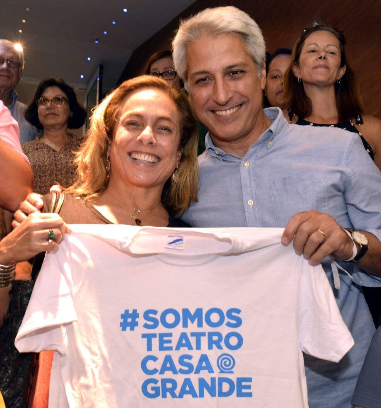 Cissa Guimarães e Alessandro Molon  /Foto: Cristina Granato