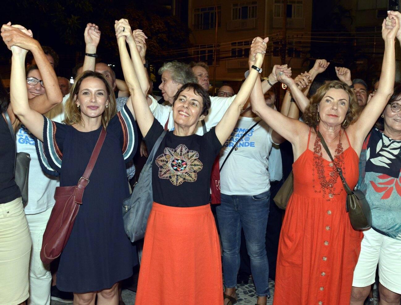 Carol Proner, Ana de Hollanada e Rosa Maria Araújo /Foto: Cristina Granato
