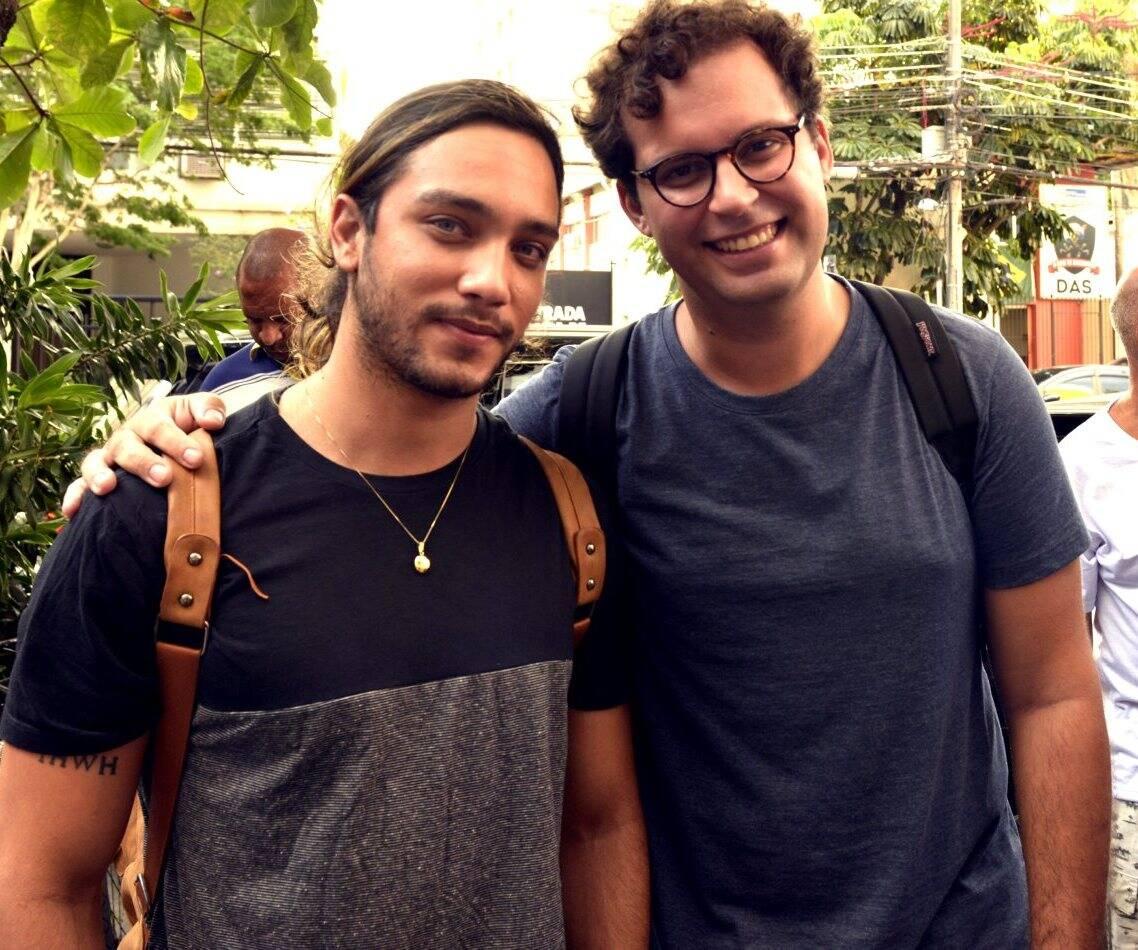 Pedro Says e  Marcus Brandão /Foto: Cristina Granato