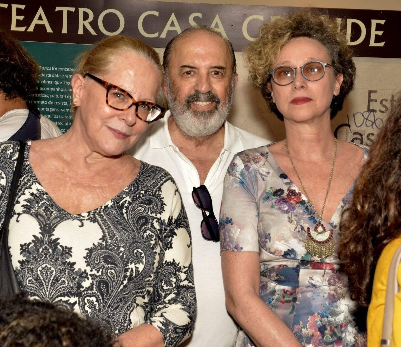 Lucinha Lins, Claudio Tovar e Katia Brostein  /Foto: Cristina Granato