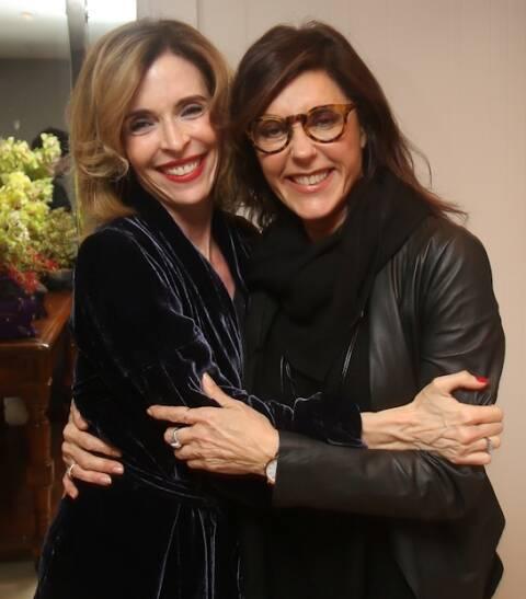 Deborah Evelyn e Christiane Torloni