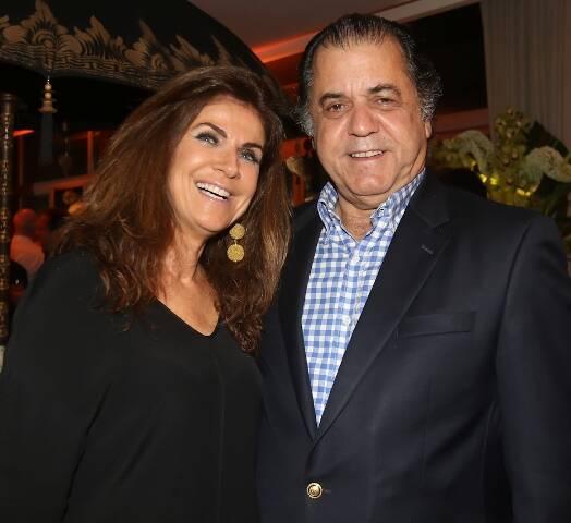 O casal Lenise Figueiredo e Catito Peres