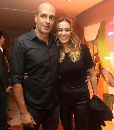 Marcelo Augusto e Mônica Martelli