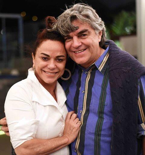 Bia Kuhn e Mario Poppe
