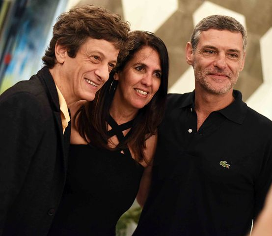 Ernesto Piccolo, Martha Medeiros e Daniel Petry