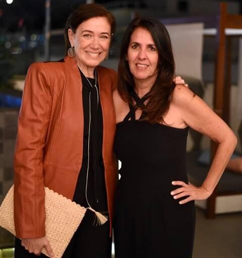 Lília Cabral e Martha Medeiros