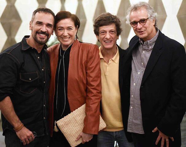 Marcelo Saback, Lília Cabral, Ernesto Piccolo e Iwan Figueiredo