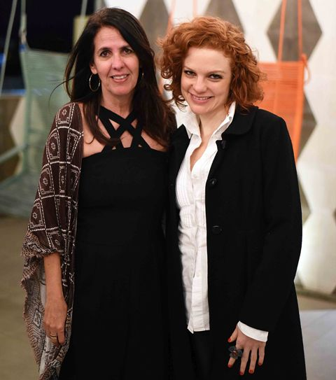 Martha Medeiros e Maria Eduarda de Carvalho