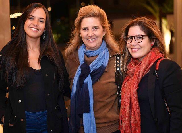 Nathalia Lugon, Kika Gama Lobo e Alice Furtado