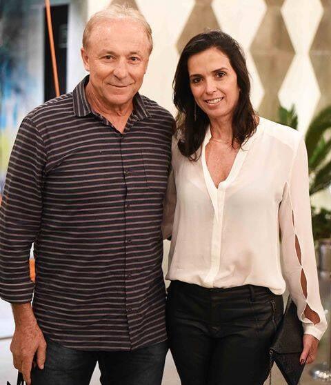 Nilo Panazzolo e Luiza Barbosa