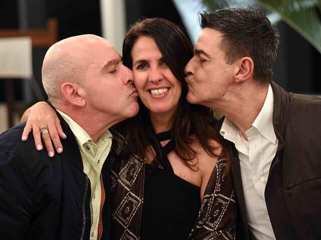 Olivier Lapot, Martha Medeiros e Xico Gonçalves