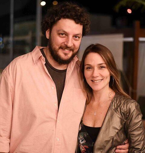 Paulo de Barros e Isabella Saes