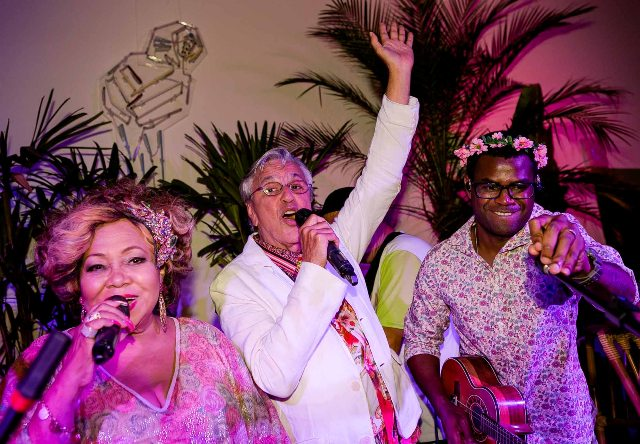 Alcione, Caetano Veloso e Pretinho da Serrinha