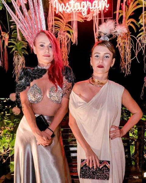 Bianca Jahara e Fernanda Nobre
