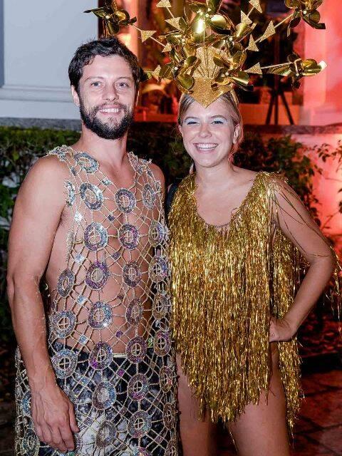 Bruno Natal e Nathalia Medeiros