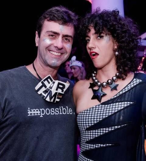 Marcelo Freixo e Antônia Pellegrino