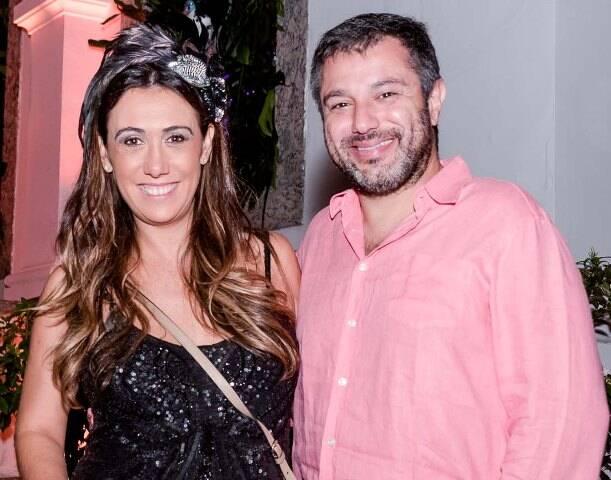 Isabela Bussade e Marcos Rocha