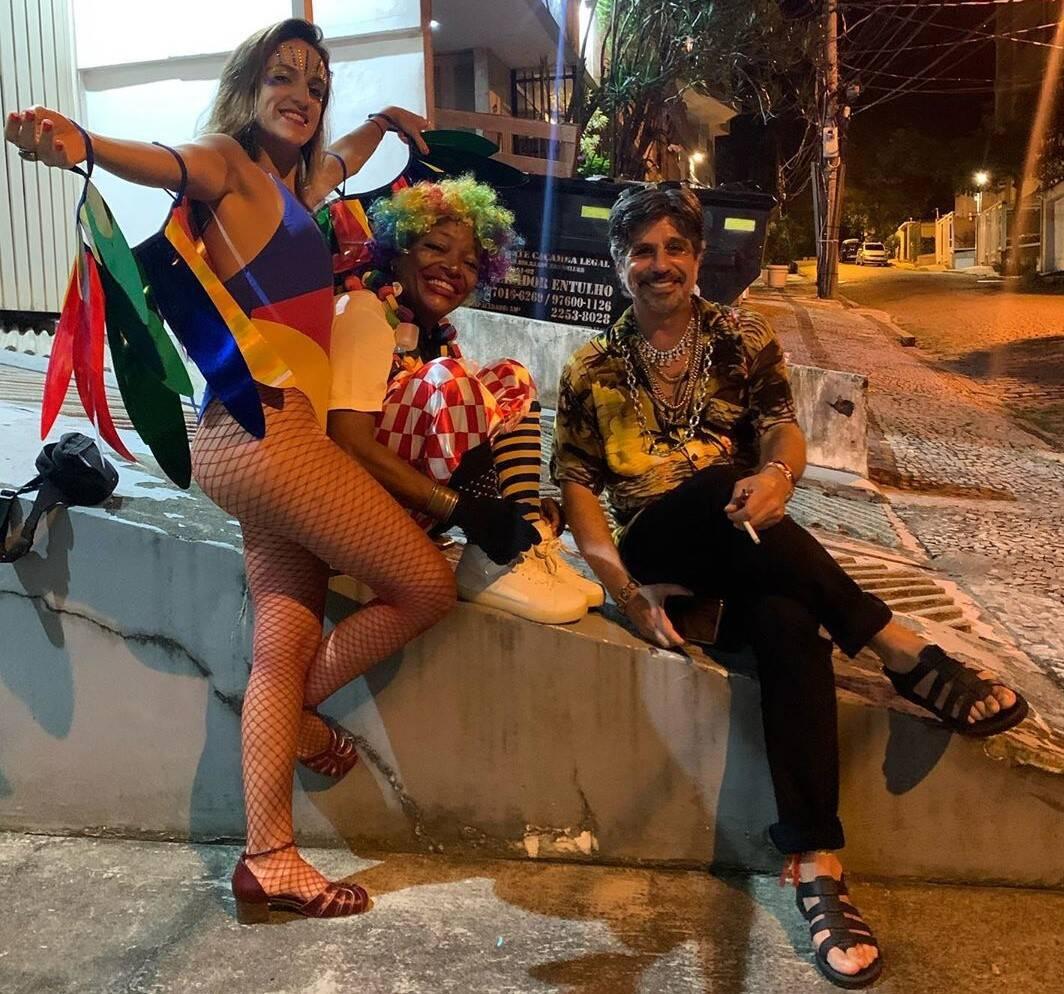 Naná Lima, Mart'nália e Paulus Magnus /Foto:Reprodução