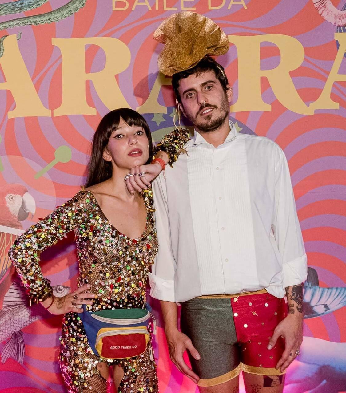 Chica Capeto e Bernardo Bonilauri /Foto: Bruno Ryfer