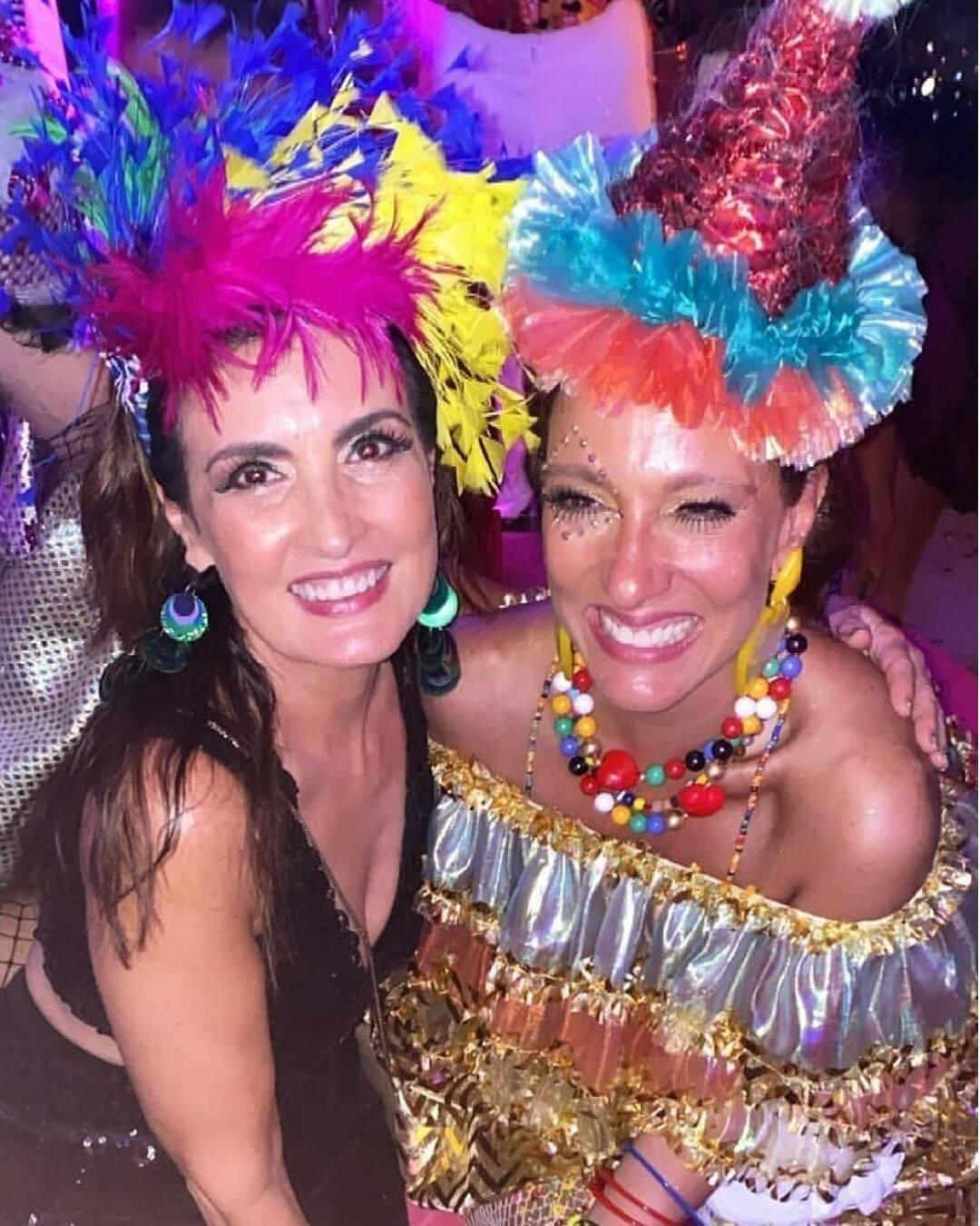 Fátima Bernardes e Isabela Capeto  /Foto:Reprodução