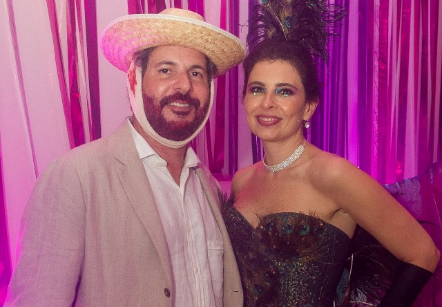 Alexandre Roesler e Renata Castro e Silva