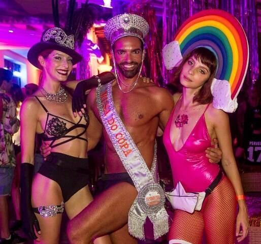 Michelle Batista, Rapha Mendonça e Gisele Batista