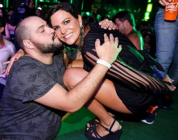 Thiago Abravanel e Carol Sampaio