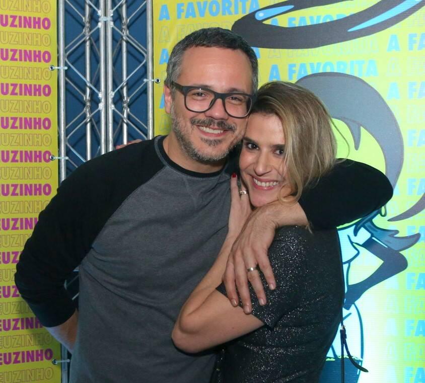Danton Mello  e Sheila Ramos /Foto: Reginaldo Teixeira