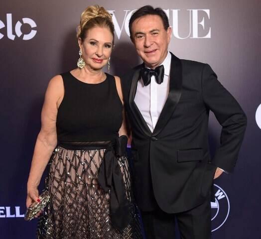 Amaury Jr. e Celina Ferreira
