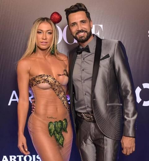 Jéssica Rodrigues e Latino