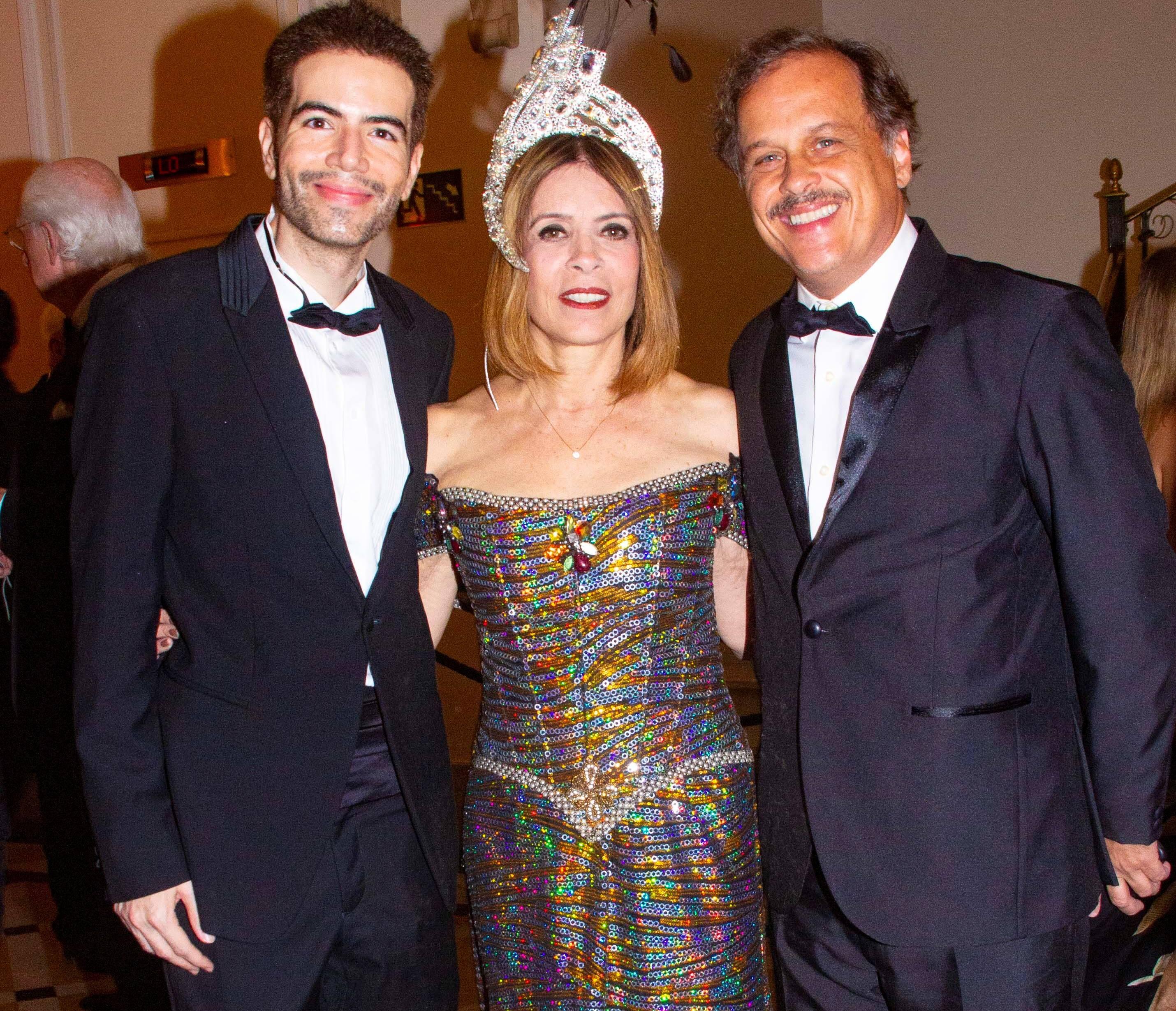 Luiz Fernando Coutinho, Liège Monteiro e Guilherme Fontes /Foto: Veronica Pontes