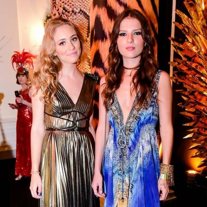 Ana Thereza Constantino e Gabriela Melzer /Foto: MS Fotos