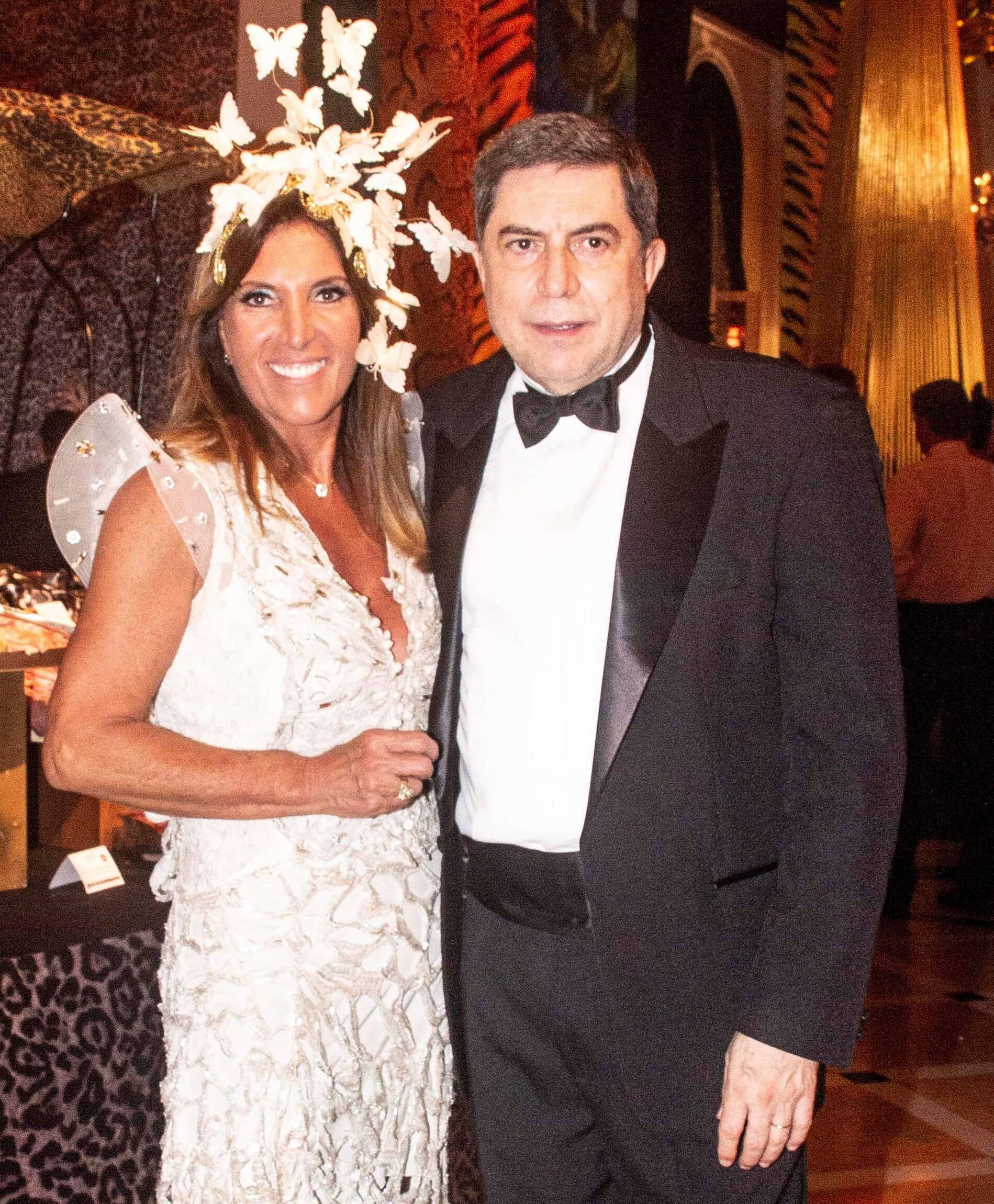 Luiz Carlos Trabuco e Lucilia Diniz /Foto: Veronica Pontes