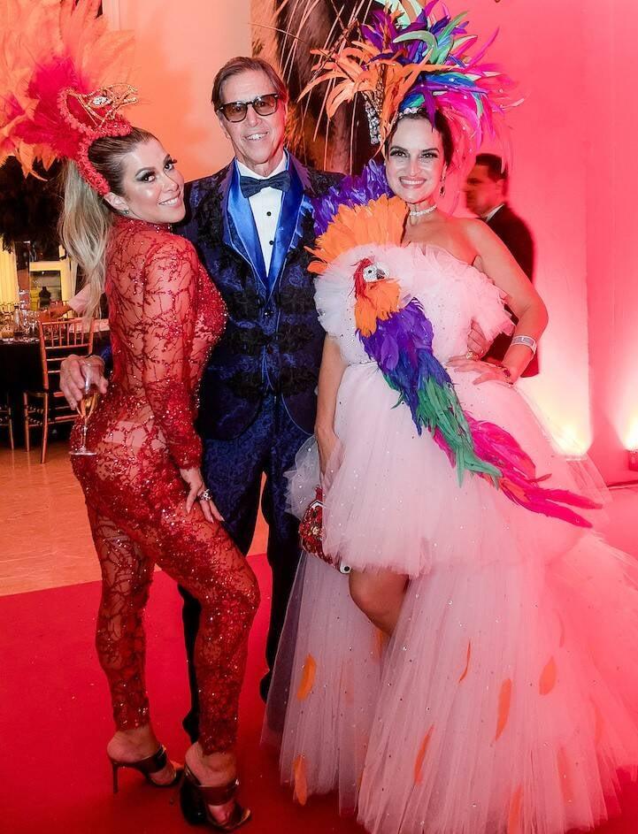Claudia Martinez, Saul Sabba e Paula Amorim /Foto: MS Fotos