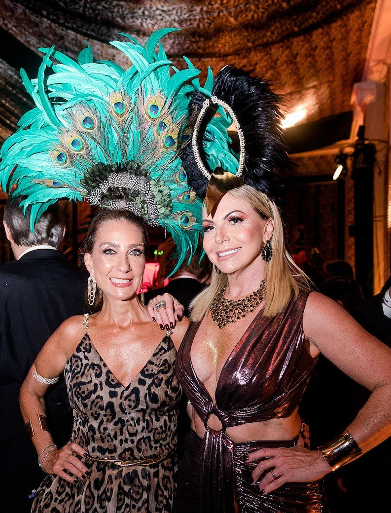 Claudia Zirak e Nina Kauffmann /Foto: MS Fotos